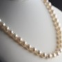 classic pearl 8mm necklace