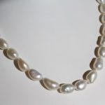 rice baroque pearl necklace