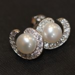 Regal diamante earrings