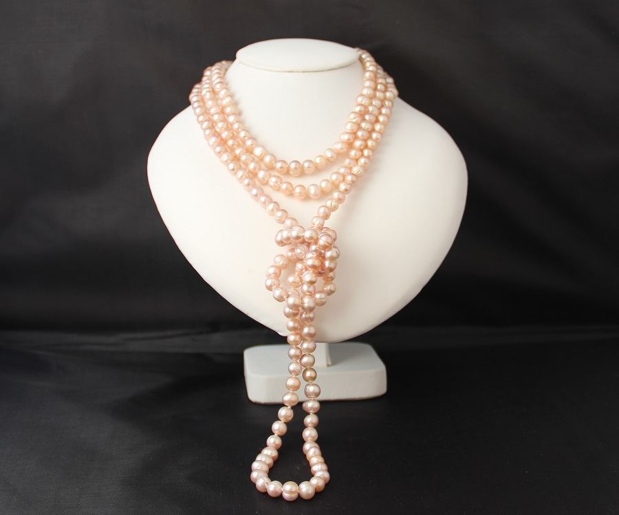 Pearl Ropes And Pearl Longs Made With Cultured Freshwater