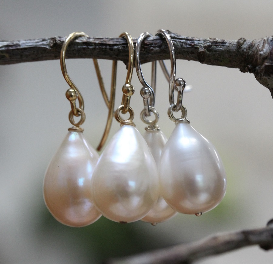 Large Pearl Drop Earrings Make The Perfect Gift