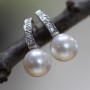 pearl curvy diamond drops
