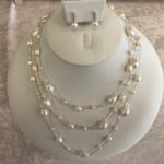 Lady Mary cream necklace