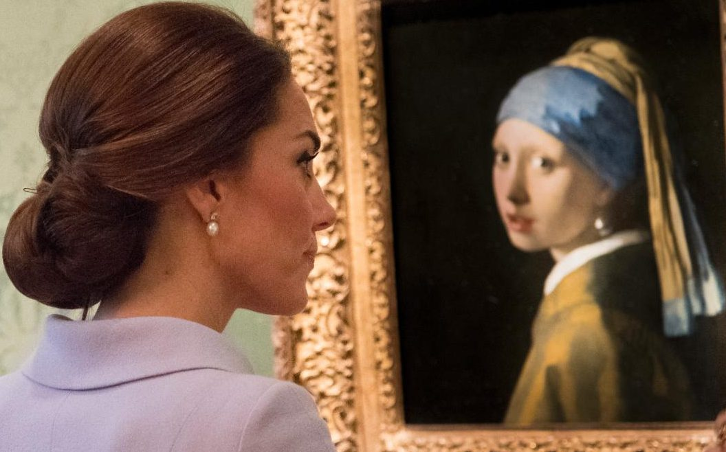 Girl With A Pearl Earring Harriet Whinney Pearls