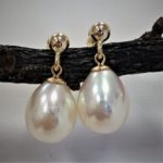 pearl earrings as a gift