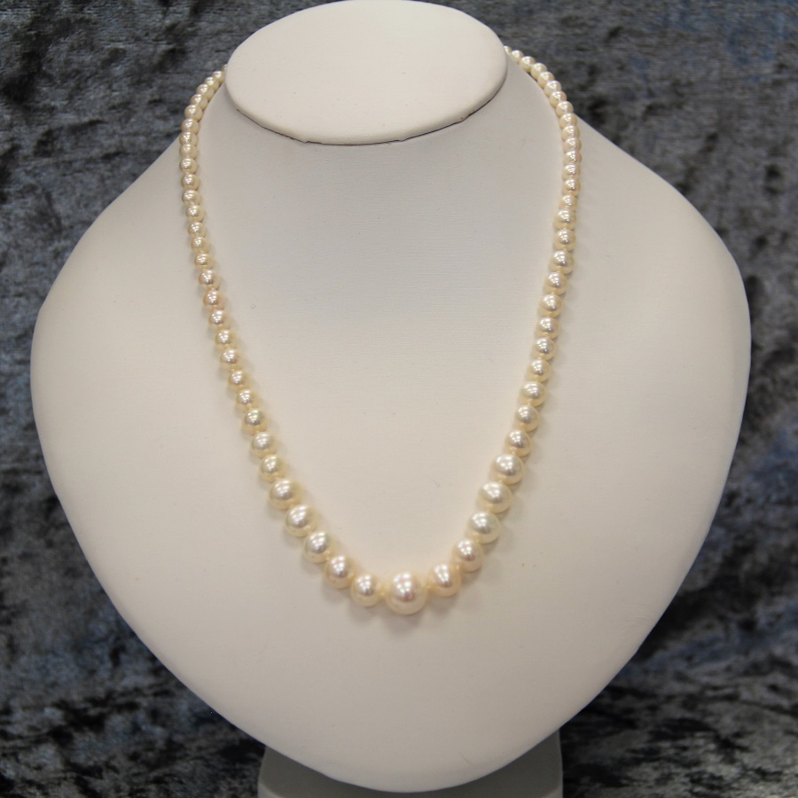 21st Birthday Gift Idea Pearl Necklace Beautifully Made In Uk